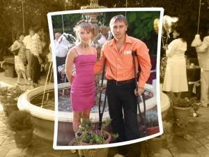 Я и моя жена Оксана